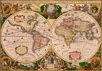 Mercator World Map of 1569