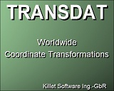 TRANSDATpro start screen