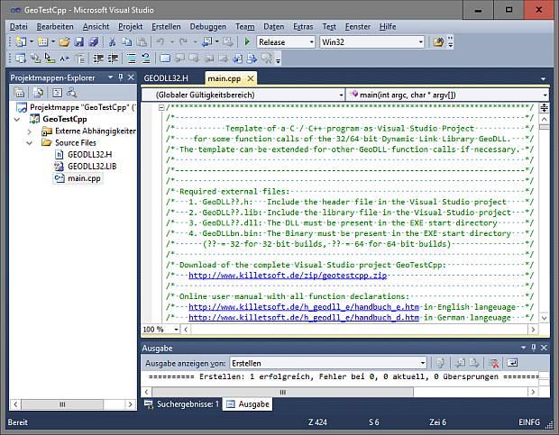 GEODLL32 screenshot