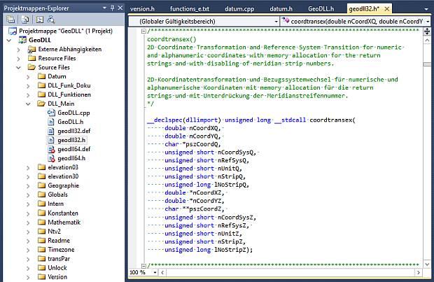 GEODLL32 full screenshot